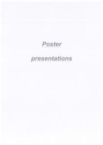 Apri Poster presentation
